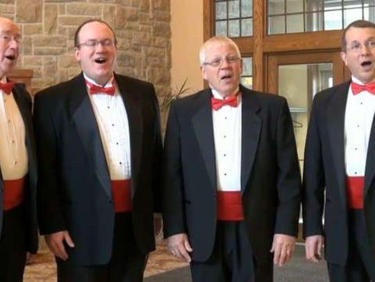 Clipper City Chordsmen will offer singing valentines