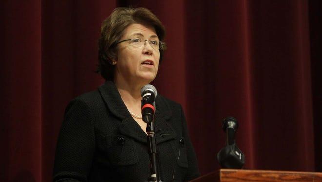 Eastern Michigan University president Susan Martin.
