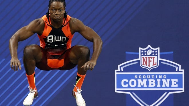 The NFL scouting combine will be held this week in Indianapolis.