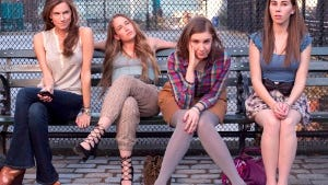 'Girls': Allison Williams, Jemima Kirke, Lena Dunham and Zosia Mamet.