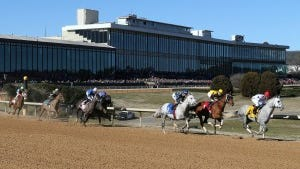 Oaklawn Park will offer record stakes purses in 2015. Coady Photography/Oaklawn photo