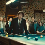 """A still frame from the 2014 Super Bowl commercial from Chrysler, """"American Imports"""", featuring Bob Dylan."""