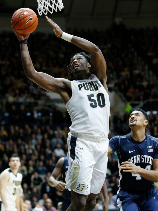 Purdue, Caleb Swanigan face hostile Spartans welcome
