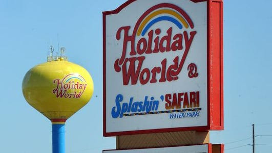 Holiday World & Splashin' Safari, in Santa Claus, Ind.