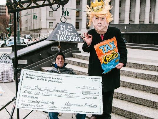EPA EPASELECT USA PROTEST TAX DAY POL CITIZENS INITIATIVE & RECALL USA NY