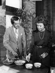 John and Barbara Ward on Feb. 18, 1983.