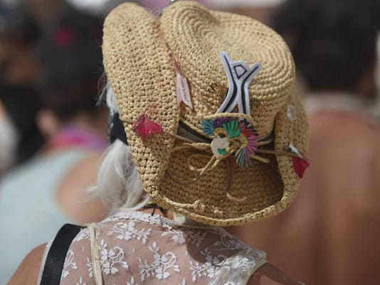 Face and Fashion at Burning Man 2015