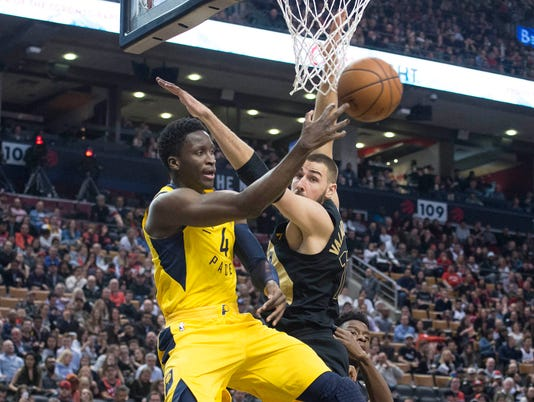 NBA: Indiana Pacers at Toronto Raptors