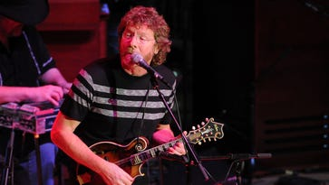 """Sam Bush's """"Storyman"""" is his first album in seven years."""