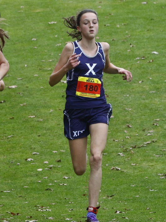 f1c1b15267337 Freedom girls finish third at state cross-country