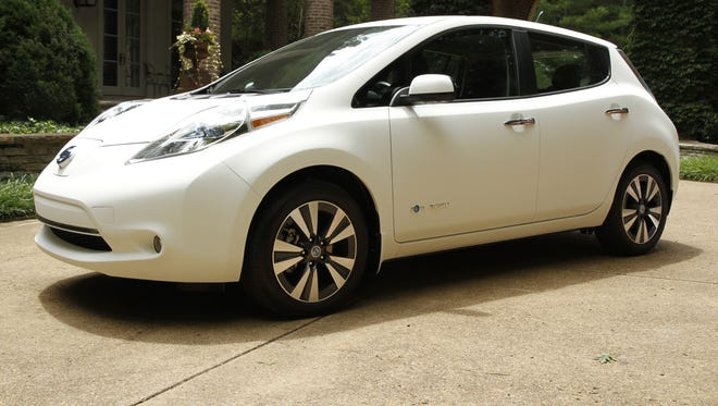 A Nissan Leaf gets a self-washing paint. Result? It's billed as the world's cleanest car