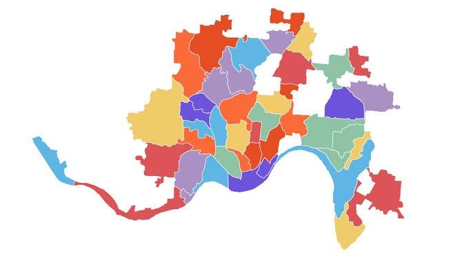 Cincinnati neighborhoods
