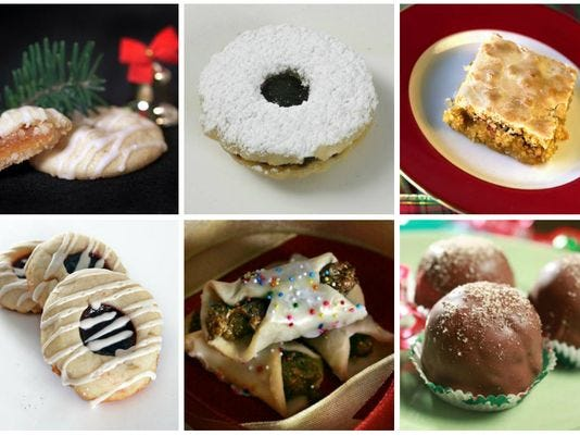 Christmas cookie contest recipes