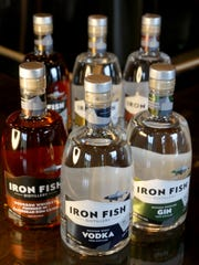 A look at bourbon, vodka and gin at Iron Fish Distillery