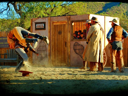 Guns of Anarchy is a gunfight performer competition