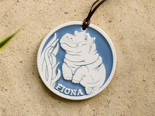 This Rookwood Pottery Fiona ornament will look great
