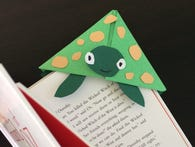 DIY: Make A Corner Bookmark
