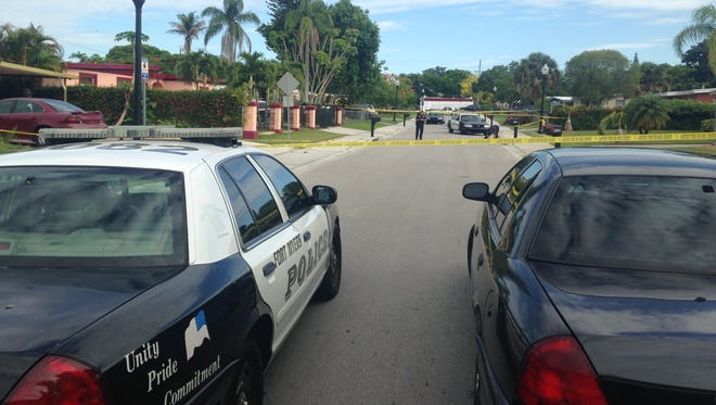 The Fort Myers Police Department are responding to a report of gun shots fired at Gardenia Avenue.