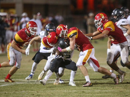 Palm Desert versus Saddleback Valley Christian, November