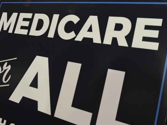 """""""When it comes to our health and well-being, we need to step beyond simple slogans and pursue thoughtful, long-lasting and meaningful change — Medicare for all is not the answer."""""""