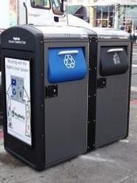 Iowa City plans to purchase four Bigbelly trash compactors and install them downtown. The containers are solar-powered and can send emails to city service workers when they need to be emptied.