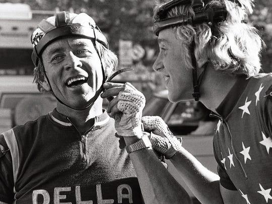 Bob and Greg LeMond
