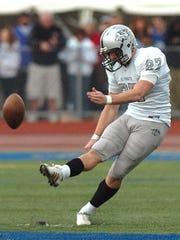 During his senior season at Plymouth, Kyle Brindza