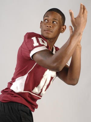 Taken in 2009, Qudarius Ford poses for his PNJ all-area team picture. Ford signed with the CFL on Monday night after his career at South Alabama.