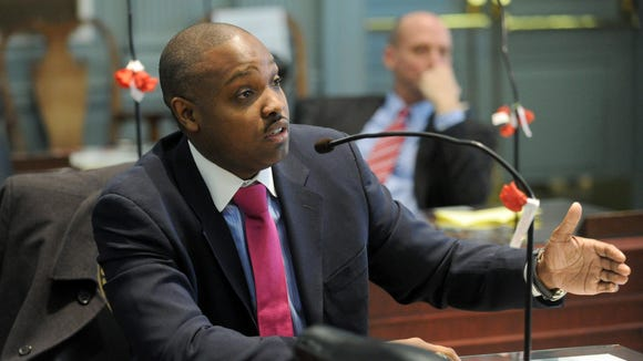 State Treasurer Chip Flowers leaves office in January, but not before one more fight with Markell administration officials.
