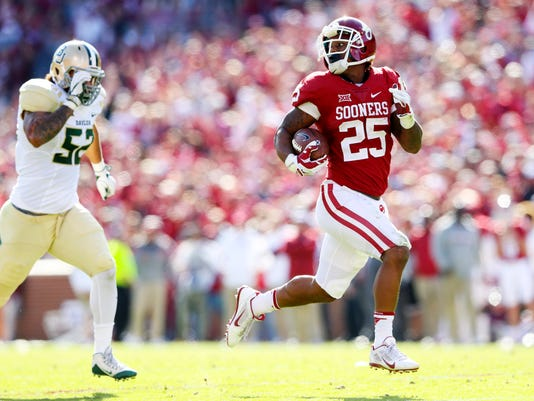 NCAA Football: Baylor at Oklahoma