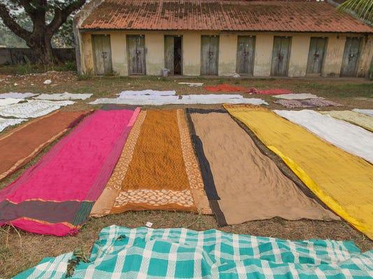 Monica_Church-Drying_Saris_Kochi_India-1