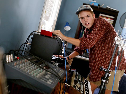 Music producer, musician and Presbyterian Christian School senior Andrew Newman | Gallery