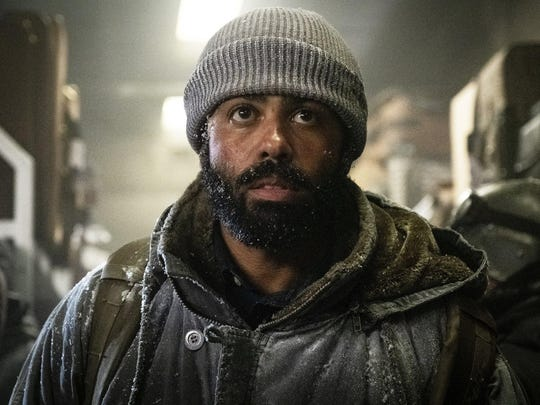"""Daveed Diggs in """"Snowpiercer,"""" which debuts at 9 p.m. Sunday on TNT."""