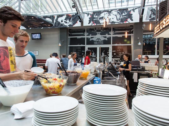 St Christopher's Gare du Nord in Paris provides free breakfast to its guests, a prevalent hostel feature.