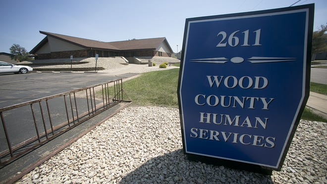 Wood County Human Services on 12th Street South in Wisconsin Rapids.