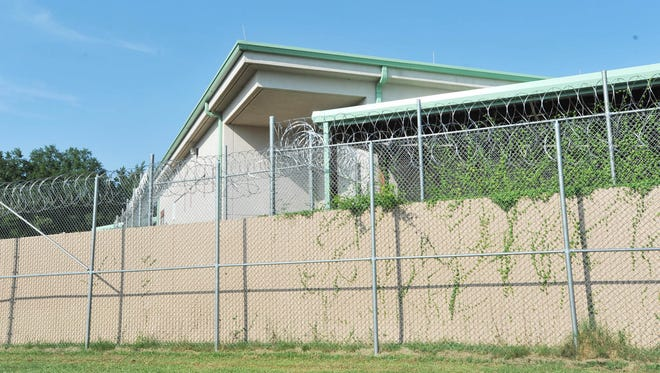 A shot of the Hinds County Detention Center at Raymond.