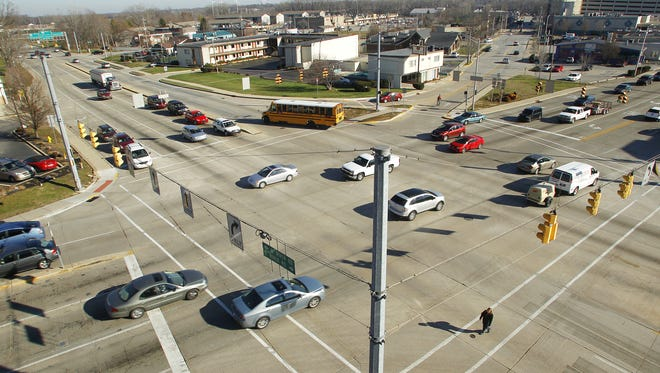 A roundabout is off, but  the intersection of State Street and River Road is still key in West Lafayette's State Street Master Plan.