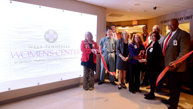 A ribbon-cutting ceremony was held Tuesday for the new nursery at the West Tennessee Women's Center at Jackson-Madison County General Hospital.
