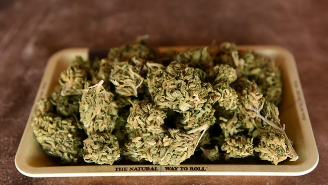 Marijuana in Elko, Nevada on May 20, 2017.