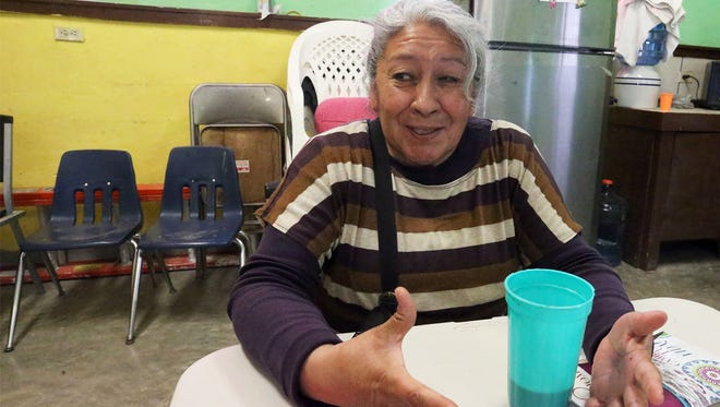 Gloria Estela Lozano reflects back on how different life was when a border fence between Anapra in Juárez and Sunand Park, N.M., did not exist.