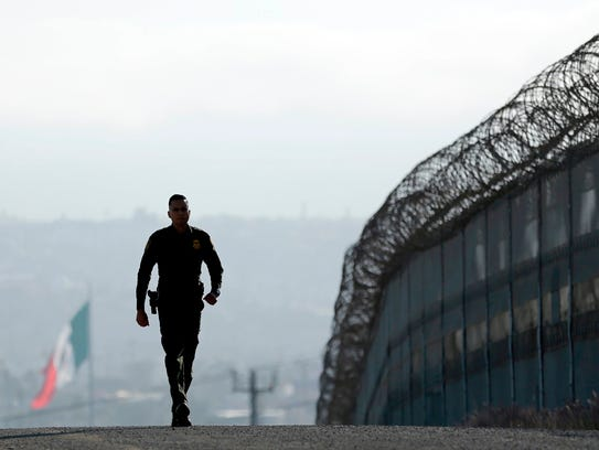 In this June 22, 2016 file photo, Border Patrol agent
