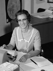 Mathematician Katherine Johnson at Work  NASA research