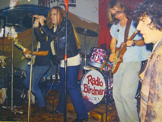 "Radio Birdman in ""Descent into the Maelstrom."""