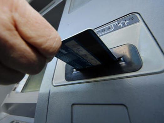 Nationally, the average out-of-network ATM fee is a record high of $4.35, according to a new report by Bankrate.com. The five cities where out-of-network ATM fees are highest follow.