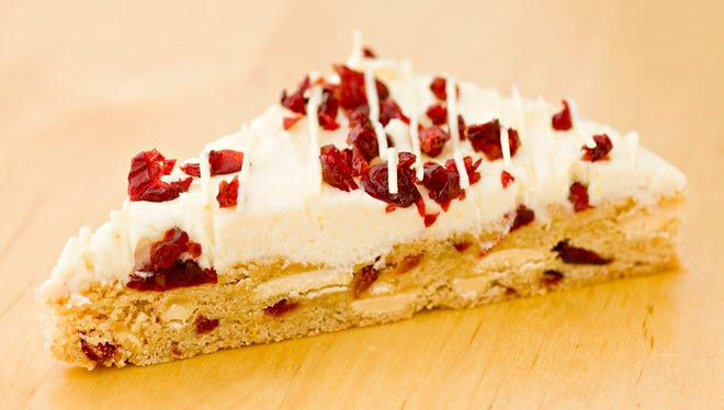 Cranberry bliss bars, made for us by Pastry chef Slade Grove, as seen in Phoenix on December 13, 2013.