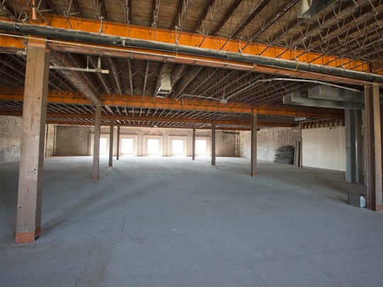 The fourth floor of the Black Pig building Tuesday
