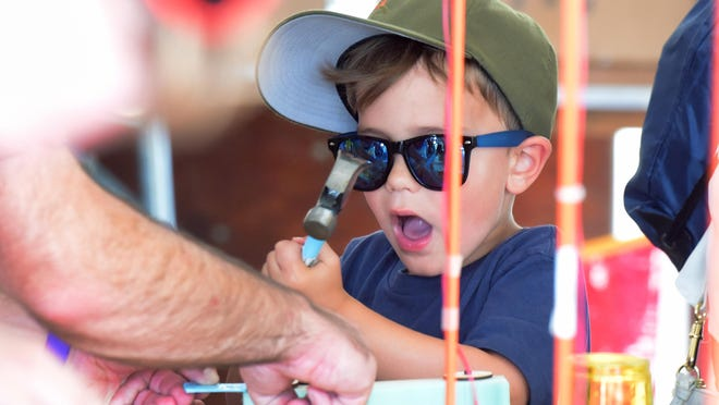 The Maker Faire includes activities for children this weekend.