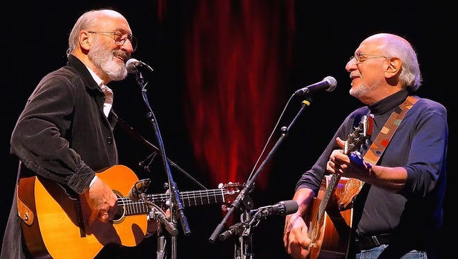 Peter Yarrow and Noel Paul Stookey of 1960s folk trio Peter, Paul and Mary will play the Meyer Theatre on Oct. 27.