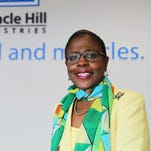 Brenda Parks works with Miracle Hill Ministries in Greenville.
