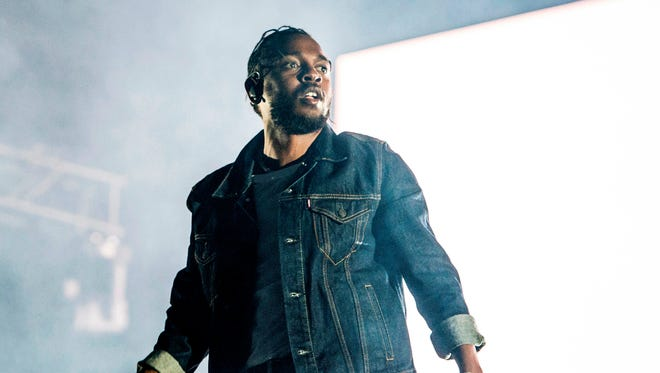 "Kendrick Lamar performs during the Festival d'ete de Quebec in Quebec City, Canada, in 2017. On Monday, Lamar won the Pulitzer Prize for music for his album ""Damn."""